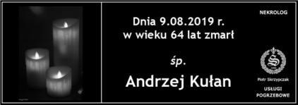 Ś.P. Andrzej Kułan