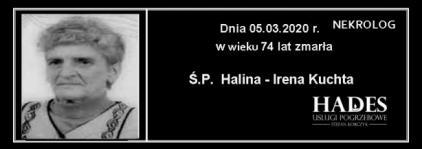 Ś.P. Halina - Irena Kuchta