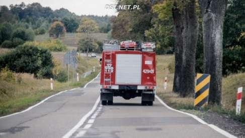 Tragiczny wypadek w okolicach miejscowości Żółte. Nie żyje jedna osoba