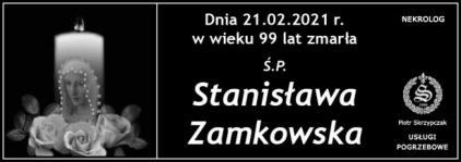Ś.P. Stanisława Zamkowska