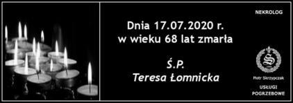 Ś.P. Teresa Łomnicka
