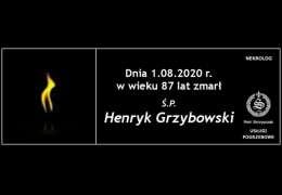 Ś.P. Henryk Grzybowski