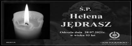 Ś.P. Helena Jędrasz