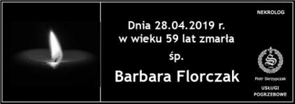 Ś.P. Barbara Florczak