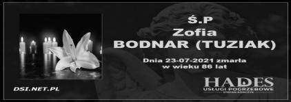 Ś.P. Zofia Bodnar