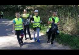 Dzieci ze szkoły w Mielenku Drawskim sprzątały śmieci