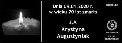 Ś.P. Krystyna Augustyniak