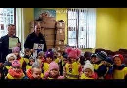 Dzieci z Nętna odwiedziły komendę policji