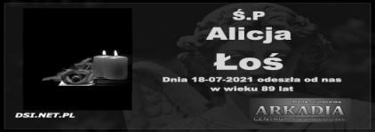 Ś.P. Alicja Łoś