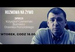 18:00 SPOTKANIE ONLINE Burmistrza Krzysztofa Czerwińskiego z mieszkańcami