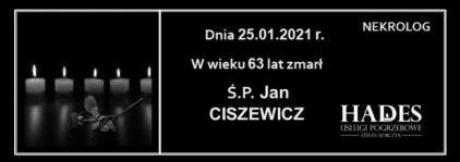 Ś.P. Jan Ciszewicz