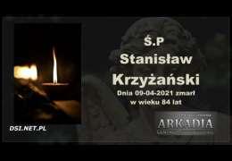Ś.P. Stanisław Krzyżański