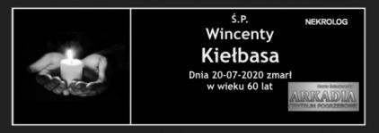 Ś.P. Wincenty Kiełbasa