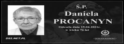 Ś.P. Daniela Procanyn