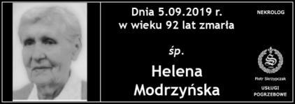 Ś.P. Helena Modrzyńska