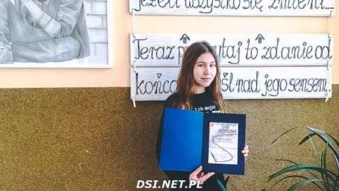 Otylia Kosińska wyróżniona w ogólnopolskim konkursie plastycznym