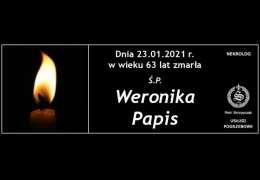 Ś.P. Weronika Papis
