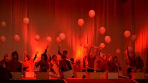 Foto: Grupa taneczna Klif z Czaplinka wystąpiła w Prenzlau