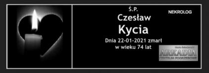 Ś.P. Czesław Kycia