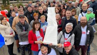Tour de Konstytucja dotarła do Drawska i Kalisza Pomorskiego. Zobacz zdjęcia