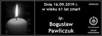 Ś.P. Bogusław Pawliczuk