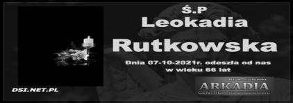 Ś.P. Leokadia Rutkowska