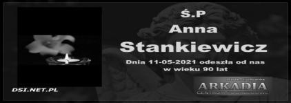 Ś.P. Anna Stankiewicz
