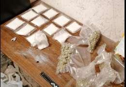 1200 porcji amfetaminy i 400 porcji marihuany ujawnili policjanci w Wałczu
