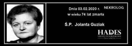 Ś.P. Jolanta Guziak