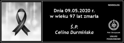 Ś.P. Celina Durmińska