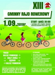 2019-09-01 Gminny Rajd Rowerowy - Kalisz Pom.