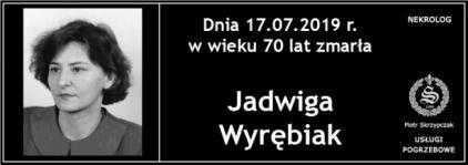 Ś.P. Jadwiga Wyrębiak