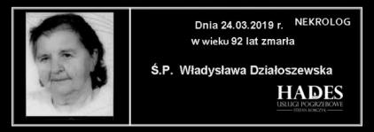 Ś.P. Władysława Działoszewska
