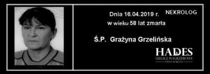 Ś.P. Grażyna Grzelińska
