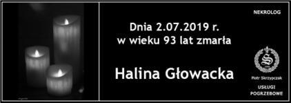 Ś.P. Halina Głowacka