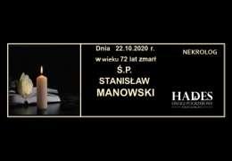 Ś.P. STANISŁAW MANOWSKI
