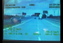 Pędził 247 km/h - właśnie otrzymał wyrok