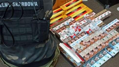 Nielegalne papierosy z białoruskiego przemytu w Czaplinku