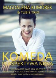 2020-02-14 Magdalena Kumorek & Tubis Trio - KOMEDA / PERSPEKTYWA NOVA - koncert