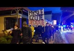 Protesty w Kaliszu Pomorskim nasilają się