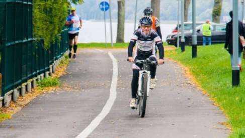 Michałki - Jan Dymecki znów medalowo podczas jednego z najstarszych maratonów MTB w Polsce