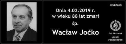 Ś.P. Wacław Joćko
