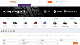 Allegro rusza z nowym portalem dedykowanym oponom