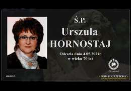 Ś.P. Urszula Hornostaj