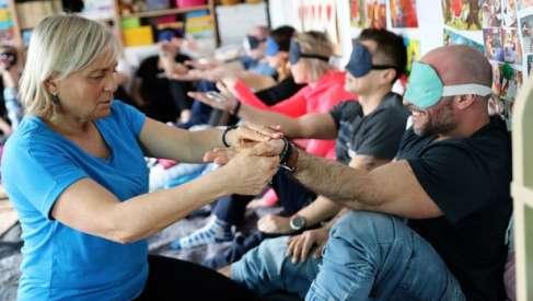 Terapeuci z placówki w Gudowie szkolili się ze stymulacji bazalnej