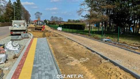 Video: Zaglądamy na budowę ścieżki rowerowej Drawsko - Zarańsko
