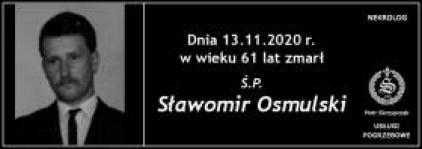 Ś.P. Sławomir Osmulski