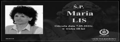 Ś.P. Maria Lis