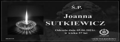 Ś.P. Joanna Sutkiewicz
