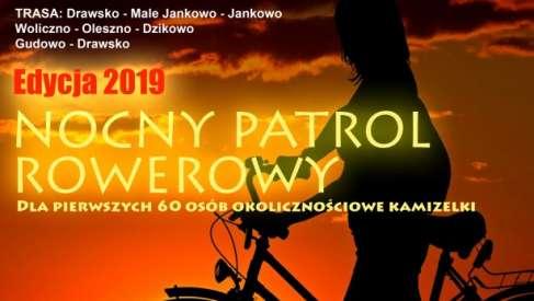 Nocny Patrol Rowerowy wraca na trasę - zapraszamy 23 sierpnia 2019